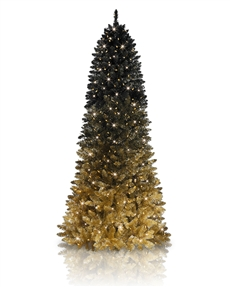 Black Gold Ombre Tree <span>|9'|Slim 42"
