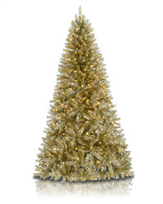 All That Glitters Artificial Christmas Tree #GoldChristmas