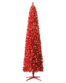 Tango Red Lipstick Pencil Tree #RedChristmas