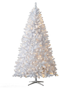 Winter White Christmas Tree <span>|8' | Full 52"