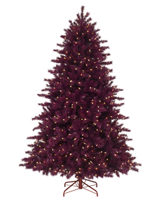 Treetopia Cranberry Crush Artificial Christmas Tree