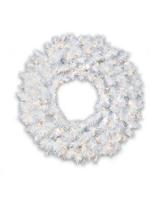 Winter White Wreath <span>|26"