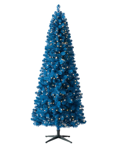 Treetopia Artificial Basics True Blue Christmas Tree