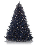 Treetopia Navy Blue Colored Artificial Christmas Tree