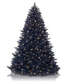 Navy Blue Christmas Tree <span>|7'|Full 54"