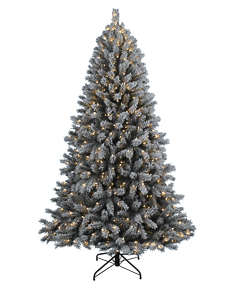Frosty Flocked Christmas Tree <span>|9'|Full 62"