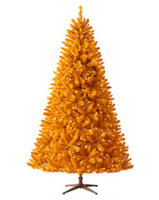 Treetopia The 100% Orange Artificial Christmas Tree