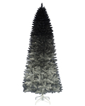 Treetopia Silver Shadow Ombre Artificial Christmas Tree