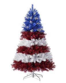 Stars and Stripes Christmas Tree <span>|6'|Full 42"