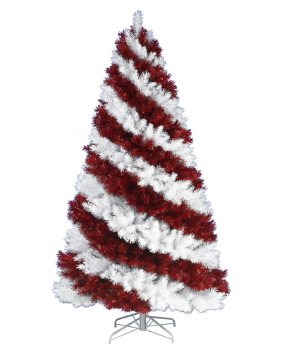 Treetopia Candy Cane Artificial Christmas Tree