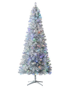 Color Blast Silver Tree <span>|7.5'|Slim 40"
