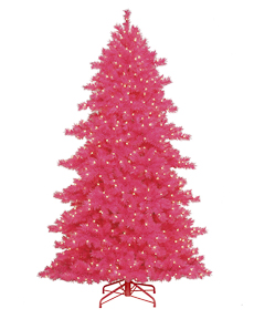 Some Like it Hot Pink Tree <span>|7'|Slim 47"