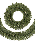 Treetopia No 2 Pencil Artificial Wreath and Garland