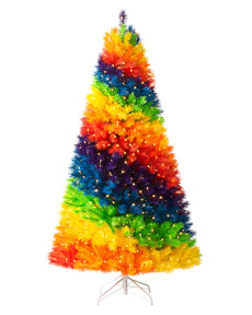 Color Burst Rainbow&trade; Christmas Tree <span>|7'|Full 46"
