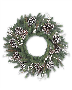 Winter Harvest Wreath <span>|24"